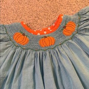 Other - Stellybelly Smocked Pumpkin Dress (2 or 3T)